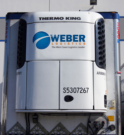 Refrigerated Trucking Services in California