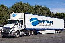 weber logistics truck