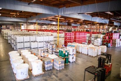hazmat warehousing