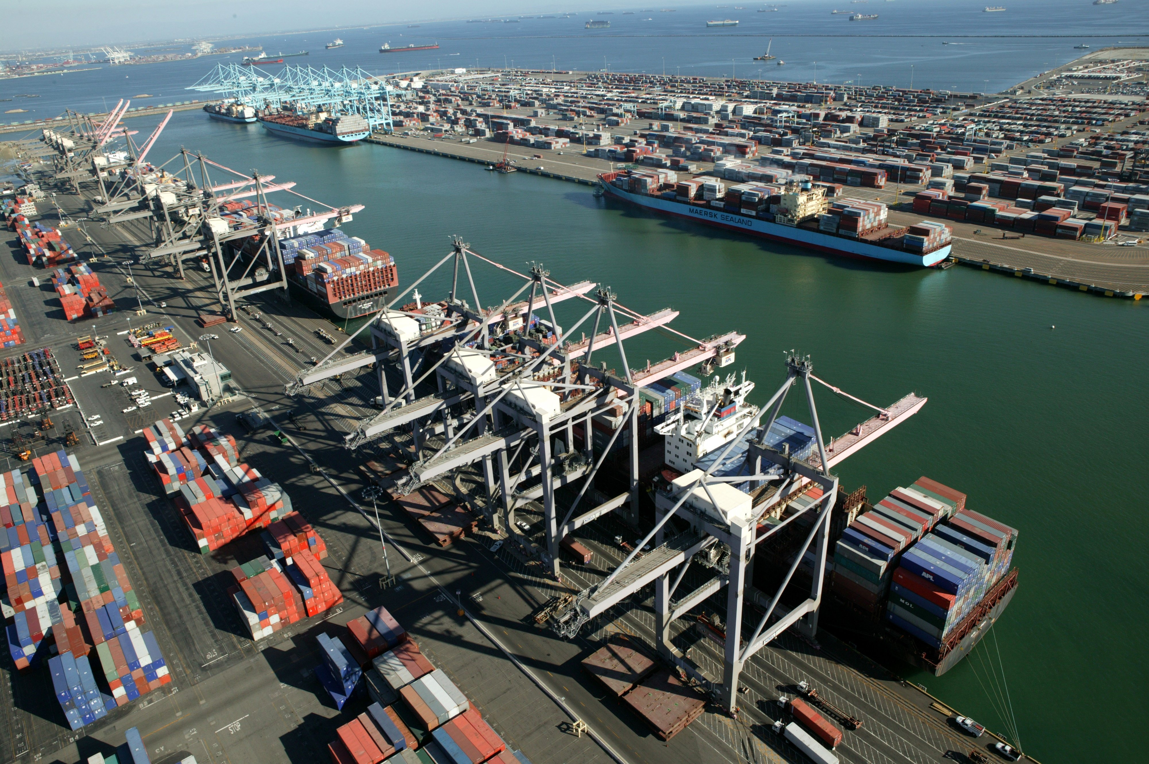 Port_of_LA_Pier 300_400 Container Terminals