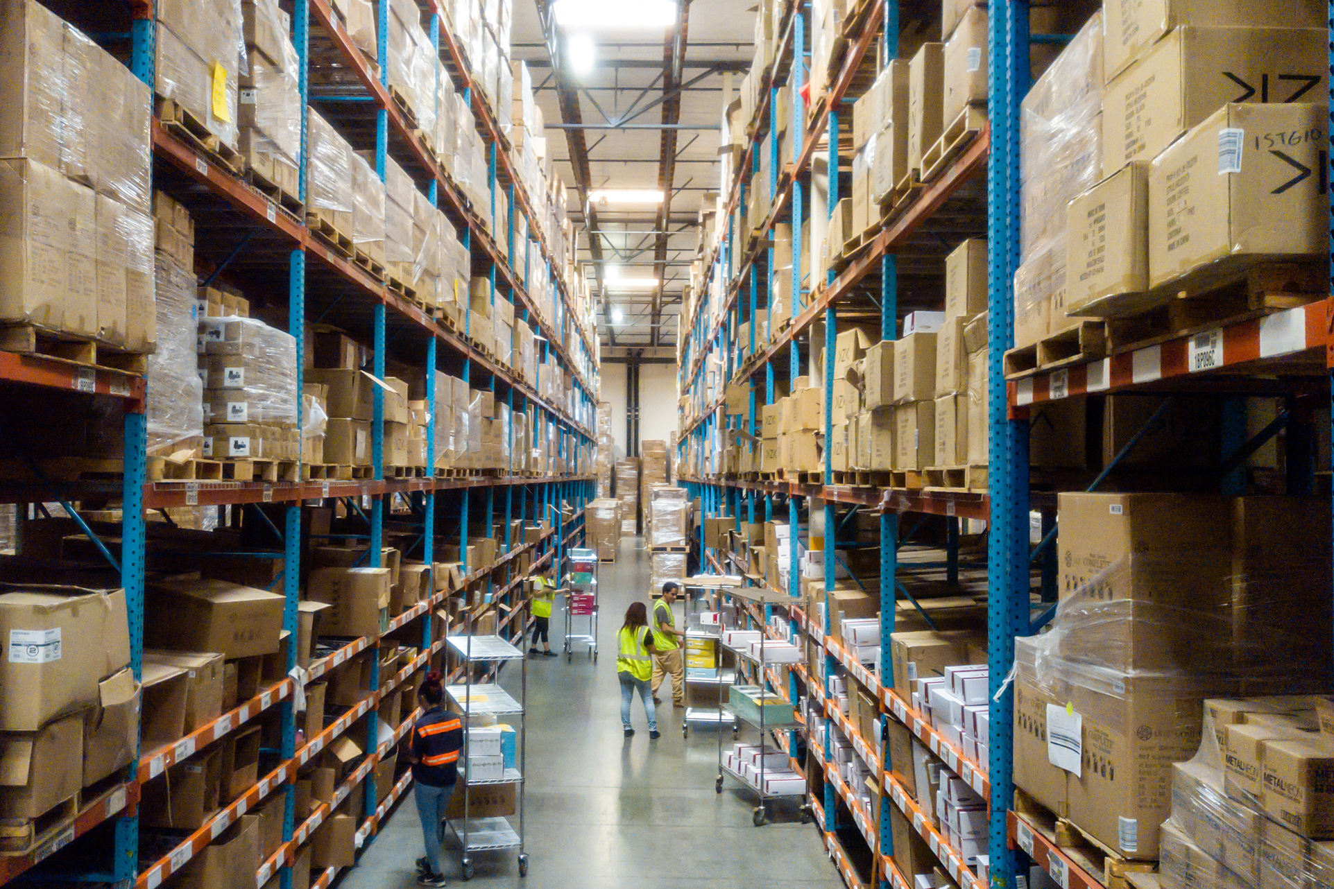 southern california warehousing
