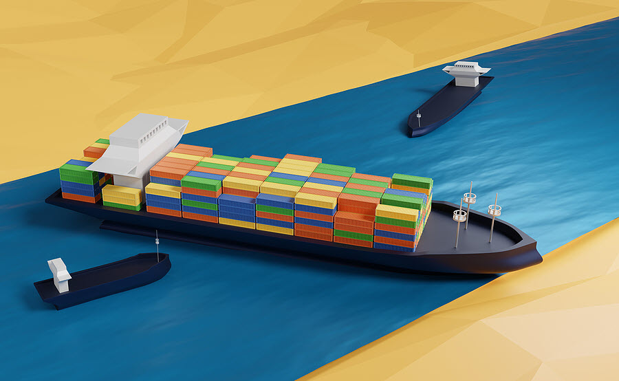 bigstock-Water-Accident-With-Cargo-Ship-414570959