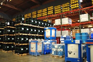hazmat chemical storage