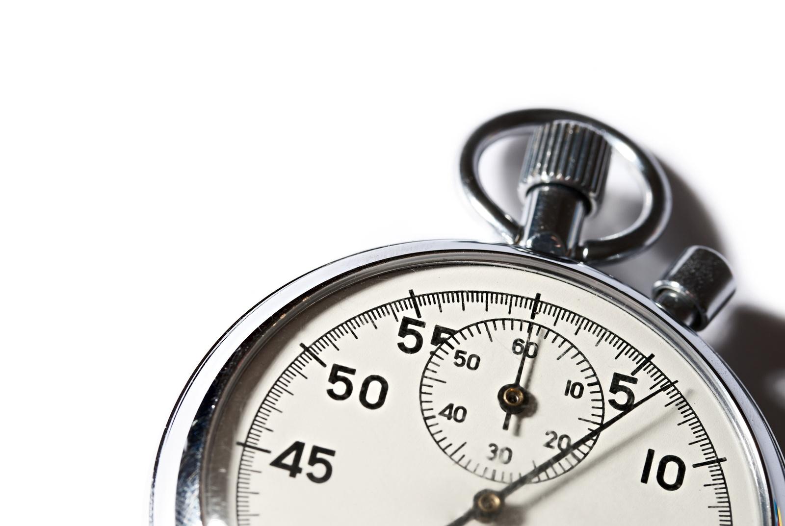 Stopwatch--bigstock-18258569