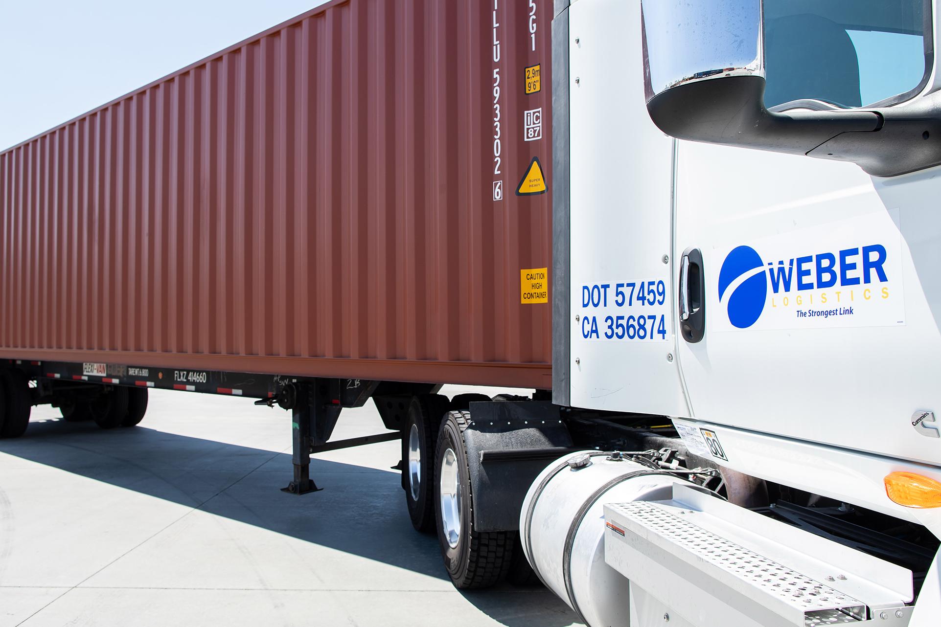 Drayage Services   Weber Logistics