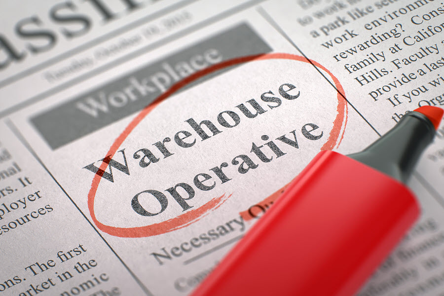 warehouse recruitment